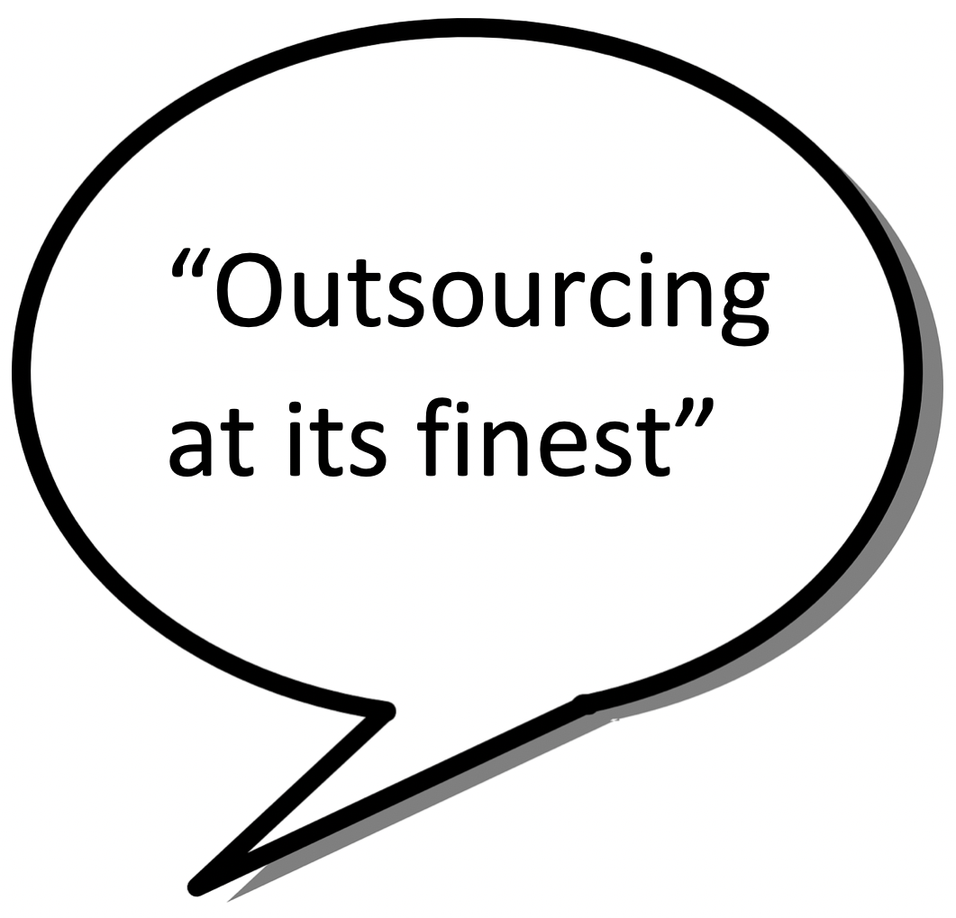 What is outsourcing New Era