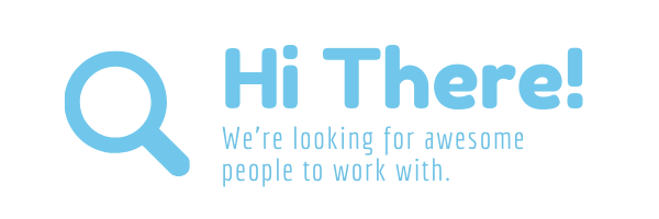 Hi there - we are hiring